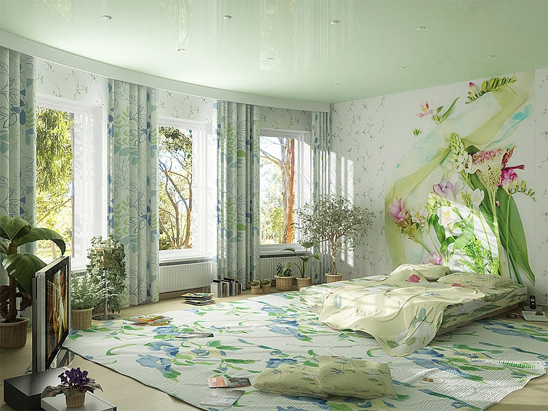 Nature in bedroom