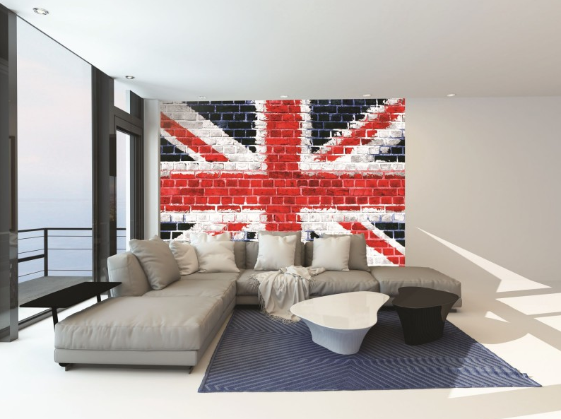 union jack di dinding